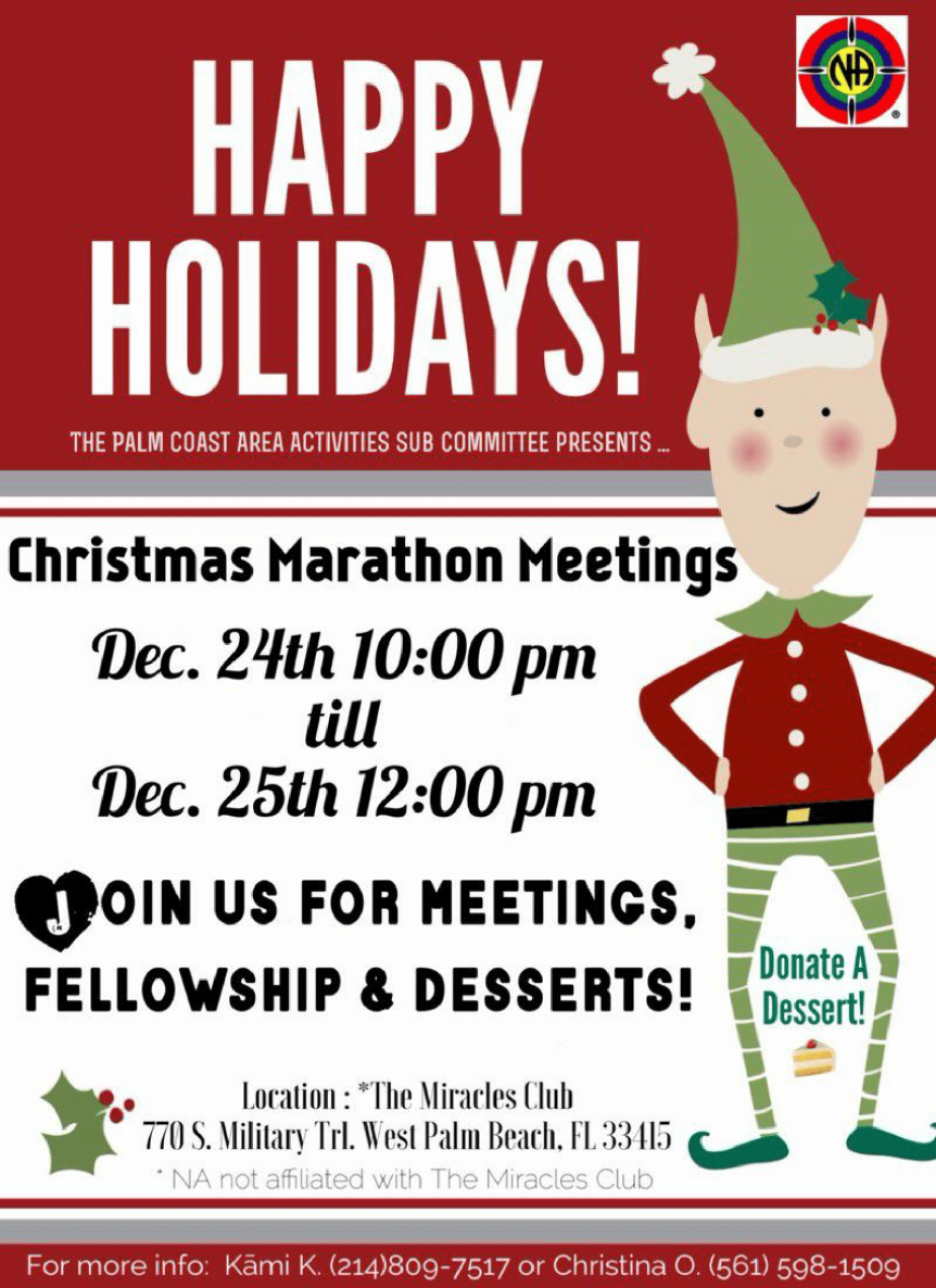 PCNA Christmas Marathon Meeting - December 24-25, 2017