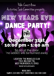 New Years Eve Dance - December 31, 2017